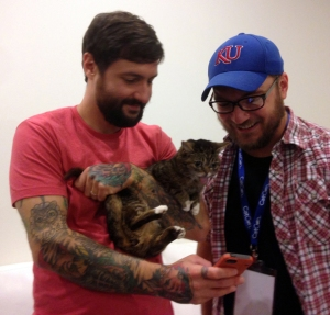 Mike, Lil Bub, and Me