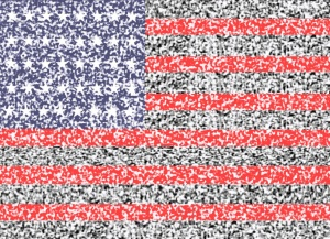 Static AMerican Flag